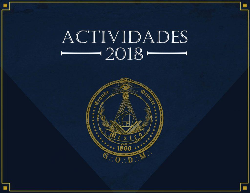 Actividades Grande Oriente de México 2018