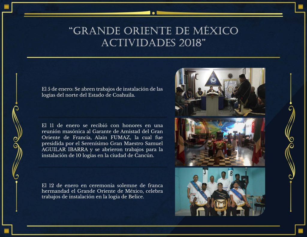 Reunión masonica con garante de paz de Francia para México Alain Fumaz